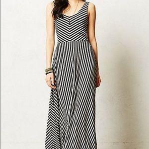 Anthropologie Dresses - Anthropologie Puella Striped Maxi Dress